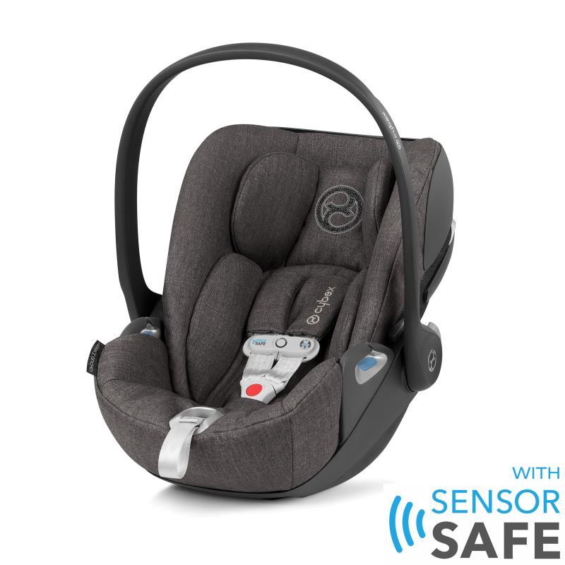Cybex Cloud Z I-Size babyskydd inkl. SensorSafe Manhattan Grey PLUS -tyg