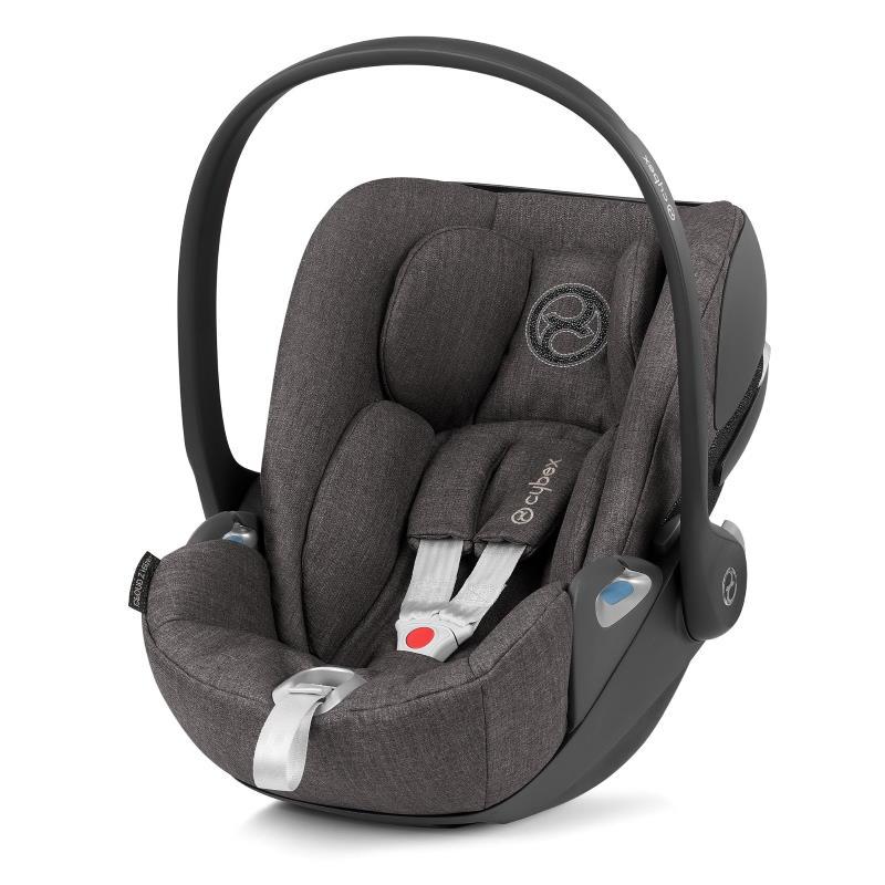 Cybex Cloud Z I-Size Infant Car Seat Soho Grey PLUS -fabric