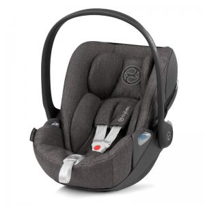 Cybex Cloud Z I-Size babyskydd Soho Grey PLUS -tyg