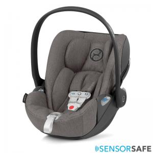 Cybex Cloud Z I-Size Infant Car Seat incl. SensorSafe Soho Grey PLUS -fabric