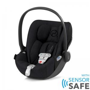 Cybex Cloud Z I-Size babyskydd inkl. SensorSafe Stardust Black PLUS -tyg