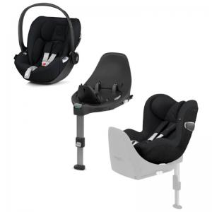 Cybex Cloud Z i-Size & Sirona Z i-Size inkl. Base Z Deep Black