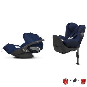 Cybex Cloud Z i-Size & Sirona Z i-Size inkl. Base Z Midnight Blue