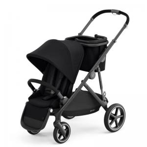 Cybex Gazelle S Black Frame DEEP BLACK - with one seat
