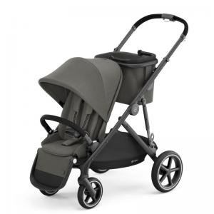Cybex Gazelle S Black Frame SOHO GREY - with one seat