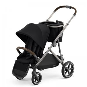 Cybex Gazelle S Taupe Chassi DEEP BLACK - Sittvagn