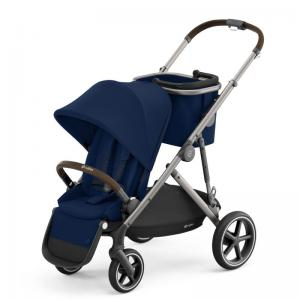 Cybex Gazelle S Taupe Frame NAVY BLUE - with one seat