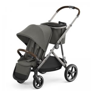 Cybex Gazelle S Taupe Frame SOHO GREY - with one seat