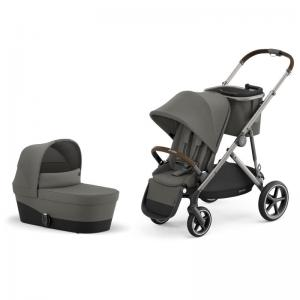 Cybex Gazelle S Taupe Frame SOHO GREY - Pushchair & One Cot