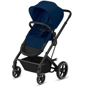 Cybex Gold Talos S 2-in-1 Svart Chassi Navy Blue