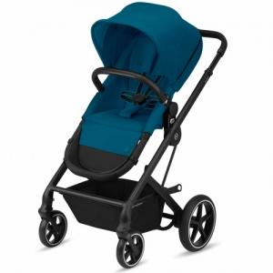 Cybex Gold Talos S 2-in-1 Svart Chassi River Blue