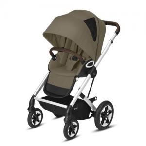 Cybex Gold Talos S Lux Stroller - Silver Chassi Classic Beige