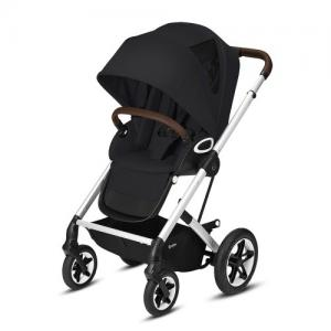 Cybex Gold Talos S Lux Stroller - Silver Chassi Deep Black