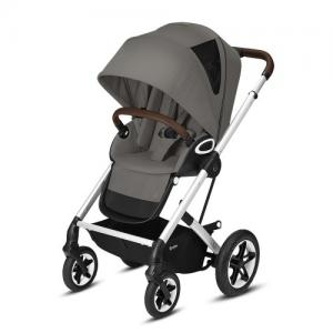 Cybex Gold Talos S Lux Komplett Sittvagn - Silver Chassi Soho Grey