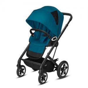 Cybex Gold Talos S Lux Stroller - Svart Chassi River Blue
