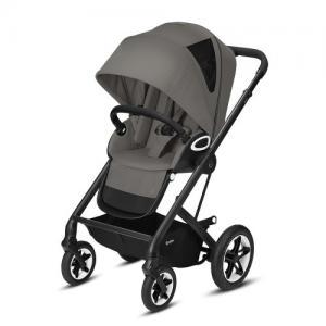 Cybex Gold Talos S Lux Stroller - Svart Chassi Soho Grey