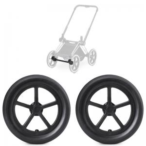 Cybex Priam All Terrain Wheels 2-pack Black incl. Front Wheel Adapter