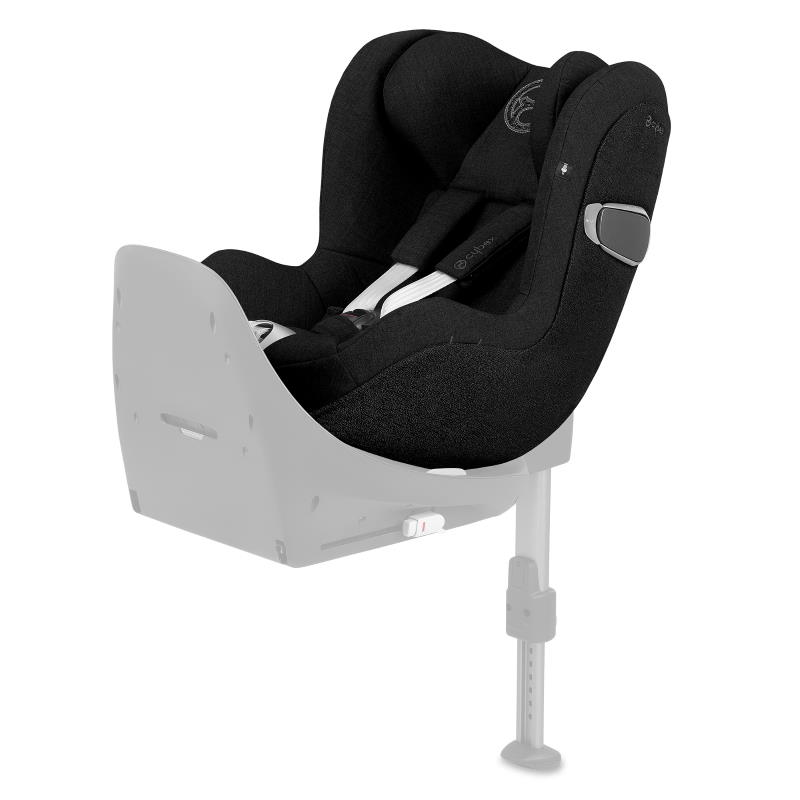 Cybex Sirona Z I-Size Rear Facing Car Seat Deep Black PLUS -fabric