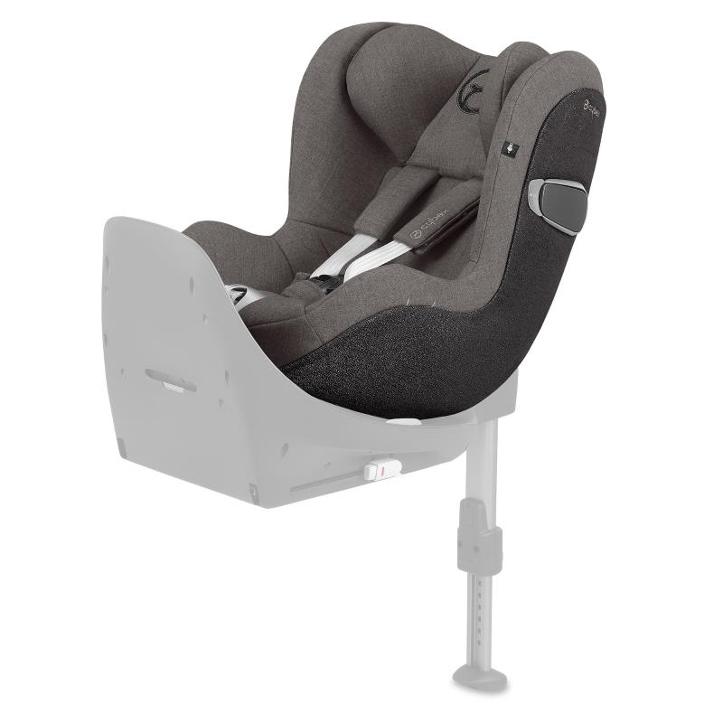 Cybex Sirona Z I-Size Rear Facing Car Seat Soho Grey PLUS -fabric