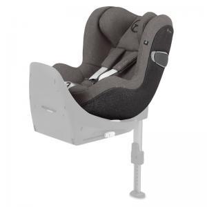 Cybex Sirona Z I-Size Rear Facing Car Seat Soho Grey PLUS -fabric