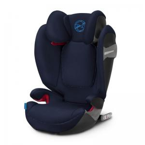 Cybex Solution S-Fix Bältesstol Indigo Blue (2019 tyger)