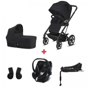 Cybex Talos S LUX Package incl. Aton 5 - BLACK / DEEP BLACK