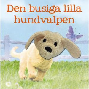 Den busiga lilla hundvalpen Bok - Med fingerdocka