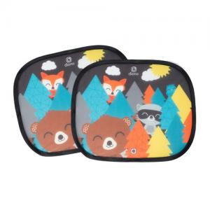 Diono Sunshade For Side window 2-pack Forest