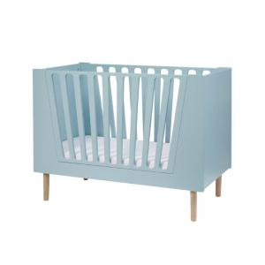 Done By Deer Baby Cot 60 x 120 cm Blue (Little Interiors)