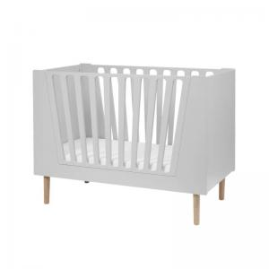 Done By Deer Baby Cot 60 x 120 cm Grey (Little Interiors)
