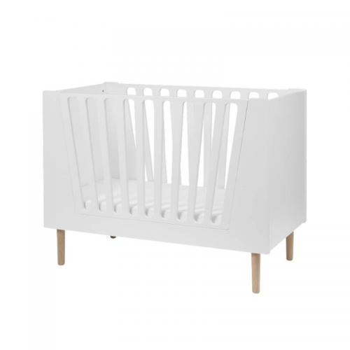 Done By Deer Spjälsäng 60 x 120 cm White (Little Interiors Baby Cot)