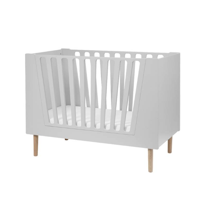 Done By Deer Spjälsäng 70 x 140 cm Grey (Little Interiors Baby Cot)