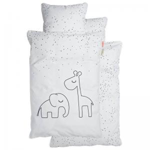 Done By Deer Bedlinen Junior Dreamy Dots White