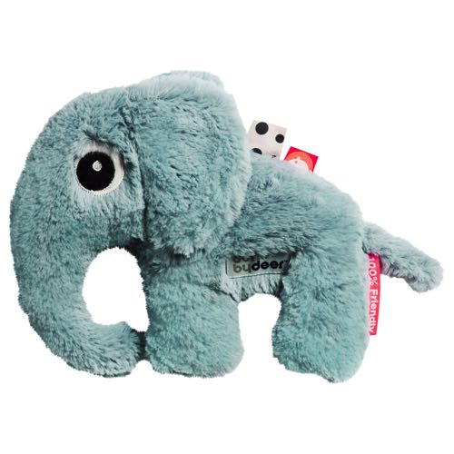 Done By Deer Gosedjur Cuddle Cute Elphee Elefant Blå