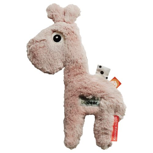 Done By Deer Gosedjur Cuddle Cute Raffi Giraff Rosa