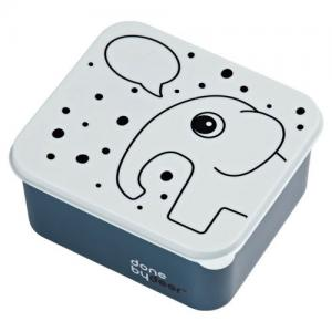 Done By Deer Lunch Box Elphee Blue Speech Bubble