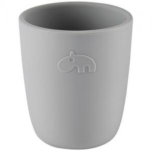 Done By Deer Mini Mug In Silicone Grey