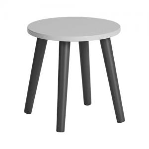 Done By Deer Stool, Grey - Size 30 X 31 cm