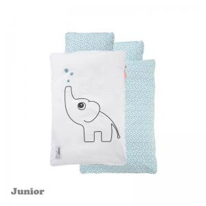 Done By Deer Elphee Bedlinen Blue Junior Size