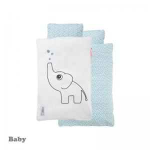 Done By Deer Elphee Bedlinen Blue Baby Size