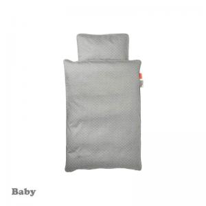 Done By Deer Balloon Bedlinen Grey Baby Size