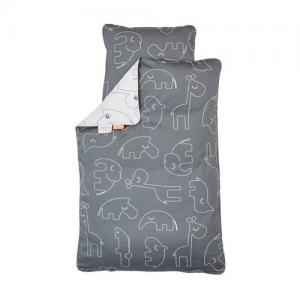 Done By Deer Bedlinen Crib Sleepy Grey