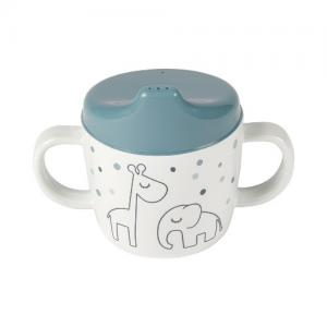 Done By Deer 2-handle Spout Cup Dreamy Dots Blue