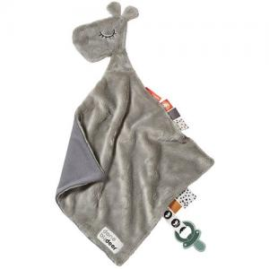 Done By Deer Cuddly Giraffe Raffi Grey