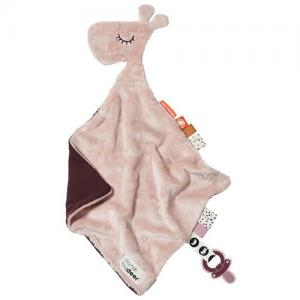 Done By Deer Cuddly Giraffe Raffi Powder Pink