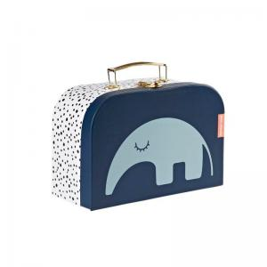 Done By Deer Suitcase Blue Antee Anteater Small 1 pcs