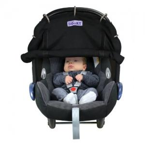 Dooky Cover for Stroller & Car Seat Black