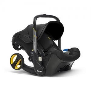doona+ Babyskydd Vagn Nitro Black Svart