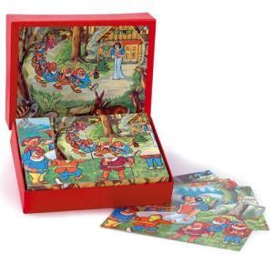 Egmont Toys Snow White Cube Puzzle 12 pcs Cubes 3+