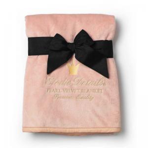 Elodie Details Pärlsammetsfilt Powder Pink